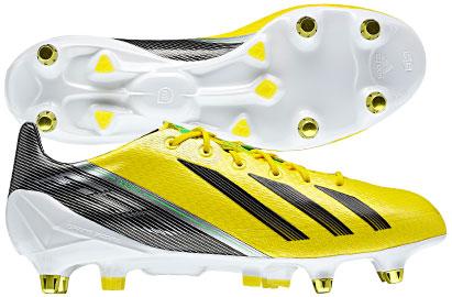 F50 adizero XTRX SG Football Boots Vivid Yellow/Green Zest/Black