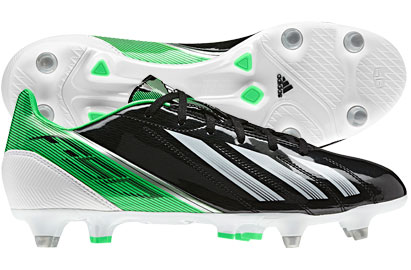 F10 TRX SG Football Boots Black/Green Zest/Running White