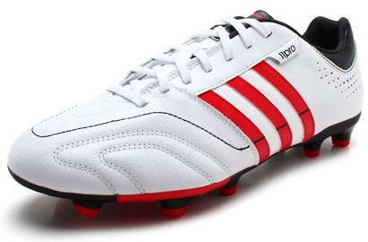 Image of 11 Nova TRX FG Football Boot Running White/Black/Vivid Red