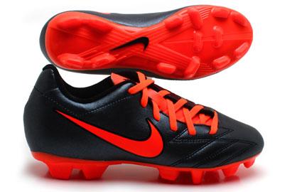 Total 90 Shoot IV FG Kids Football Boots BlackTotal Crimson