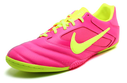 Nike5 Elastico Pro Indoor Football Trainers Pink Flash/Volt