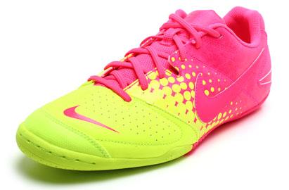 Nike5 Elastico IC Indoor Football Trainers Pink Flash/Volt