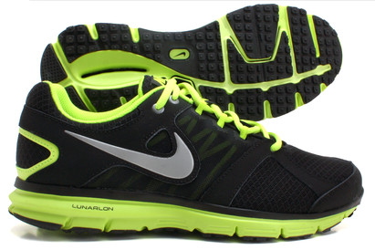 Nike Lunar Forever 2 Running Shoes Black/Metallic Silver/Volt