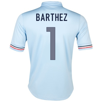 2013-14 France Away Shirt (Barthez 1)