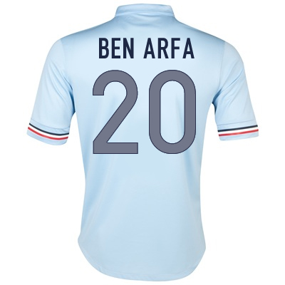 2013-14 France Away Shirt (Ben Arfa 20)
