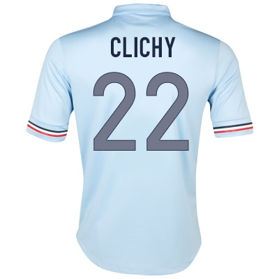 2013-14 France Away Shirt (Clichy 22)