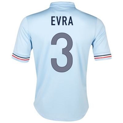 2013-14 France Away Shirt (Evra 3)