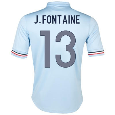 2013-14 France Away Shirt (Fontaine 13)