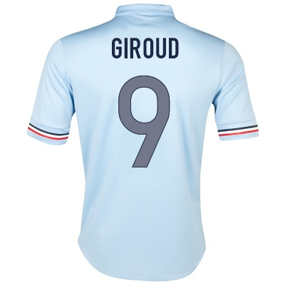2013-14 France Away Shirt (Giroud 9)