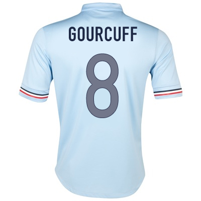 2013-14 France Away Shirt (Gourcuff 8)