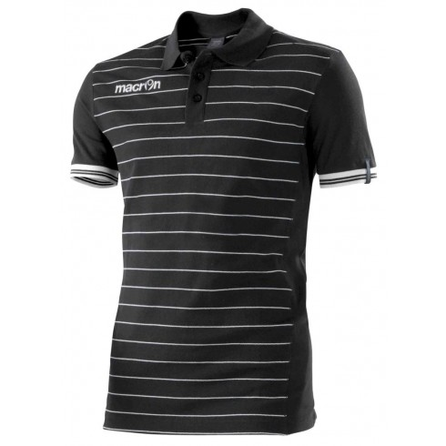Macron Jungle Polo Shirt (black)