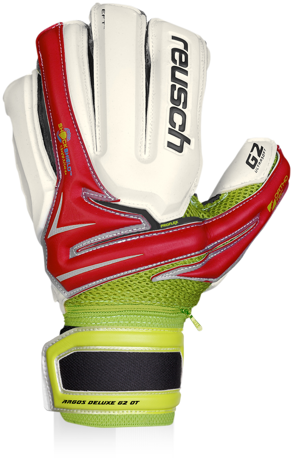 Reusch Argos Deluxe G2 Ortho-Tec (Fire Red)