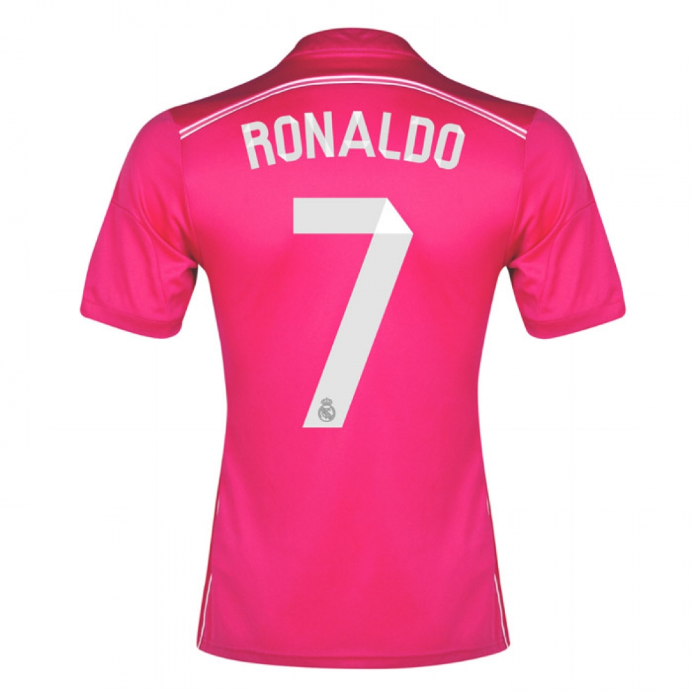 201415 Real Madrid Away Shirt (Ronaldo 7)  Kids