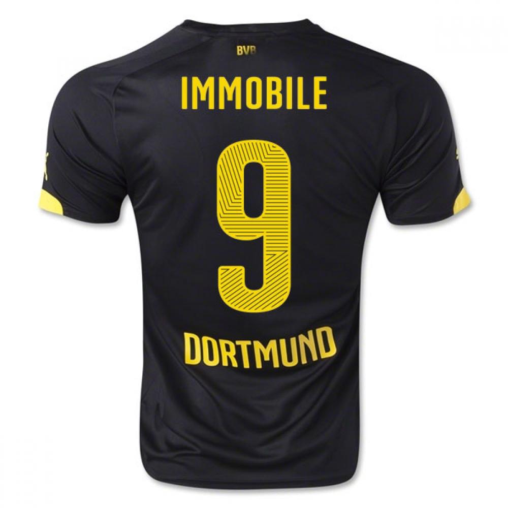 2014-15 Borussia Dortmund Away Shirt (Immobile 9) - Kids
