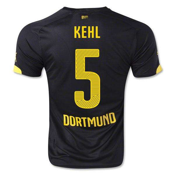 2014-15 Borussia Dortmund Away Shirt (Kehl 5) - Kids