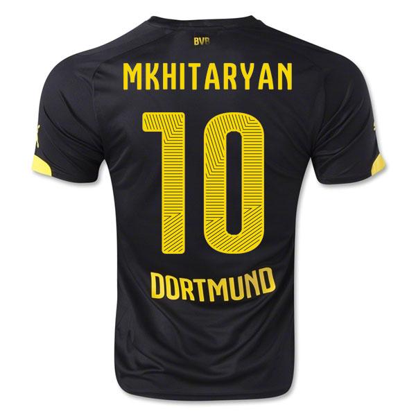 2014-15 Borussia Dortmund Away Shirt (Mkhitaryan 10) - Kids