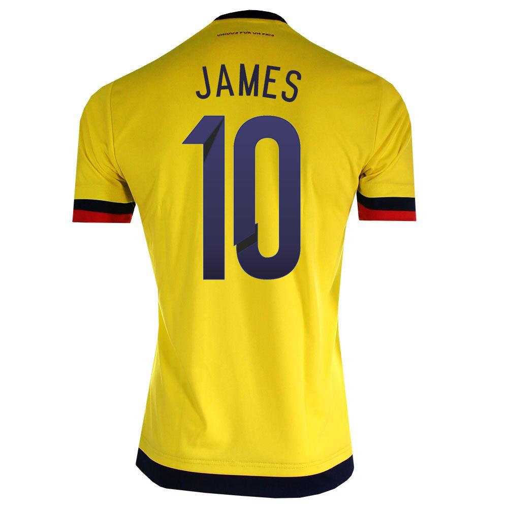 2741566a8 2015-2016 Colombia Adidas Home Shirt (James 10) M62788-59040 - Uksoccershop  ...