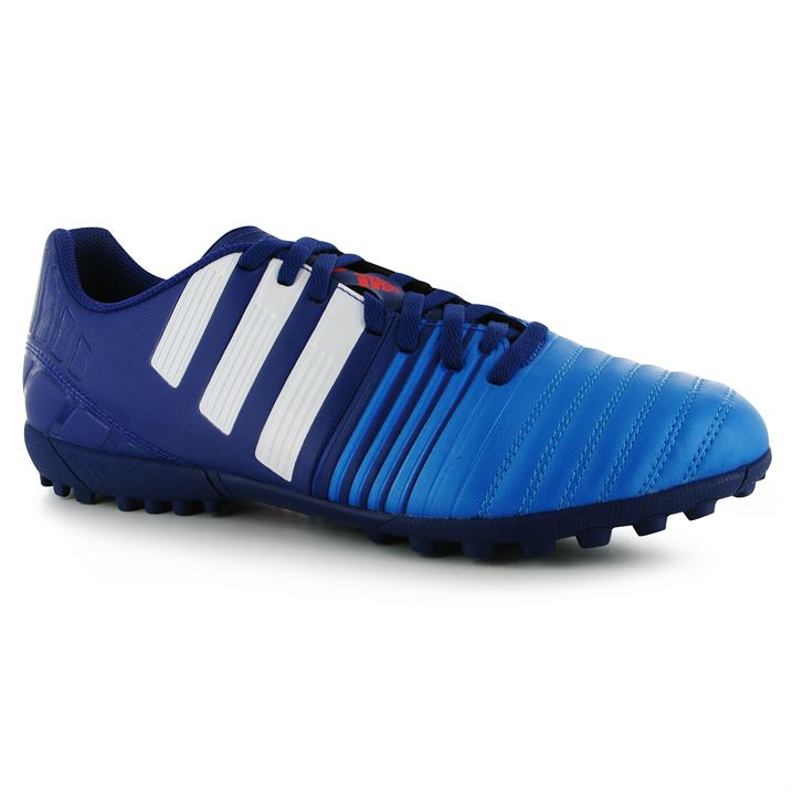 adidas Nitrocharge 4.0 Mens Astro Turf Trainers(Amazon PurpleWhiteBlue)
