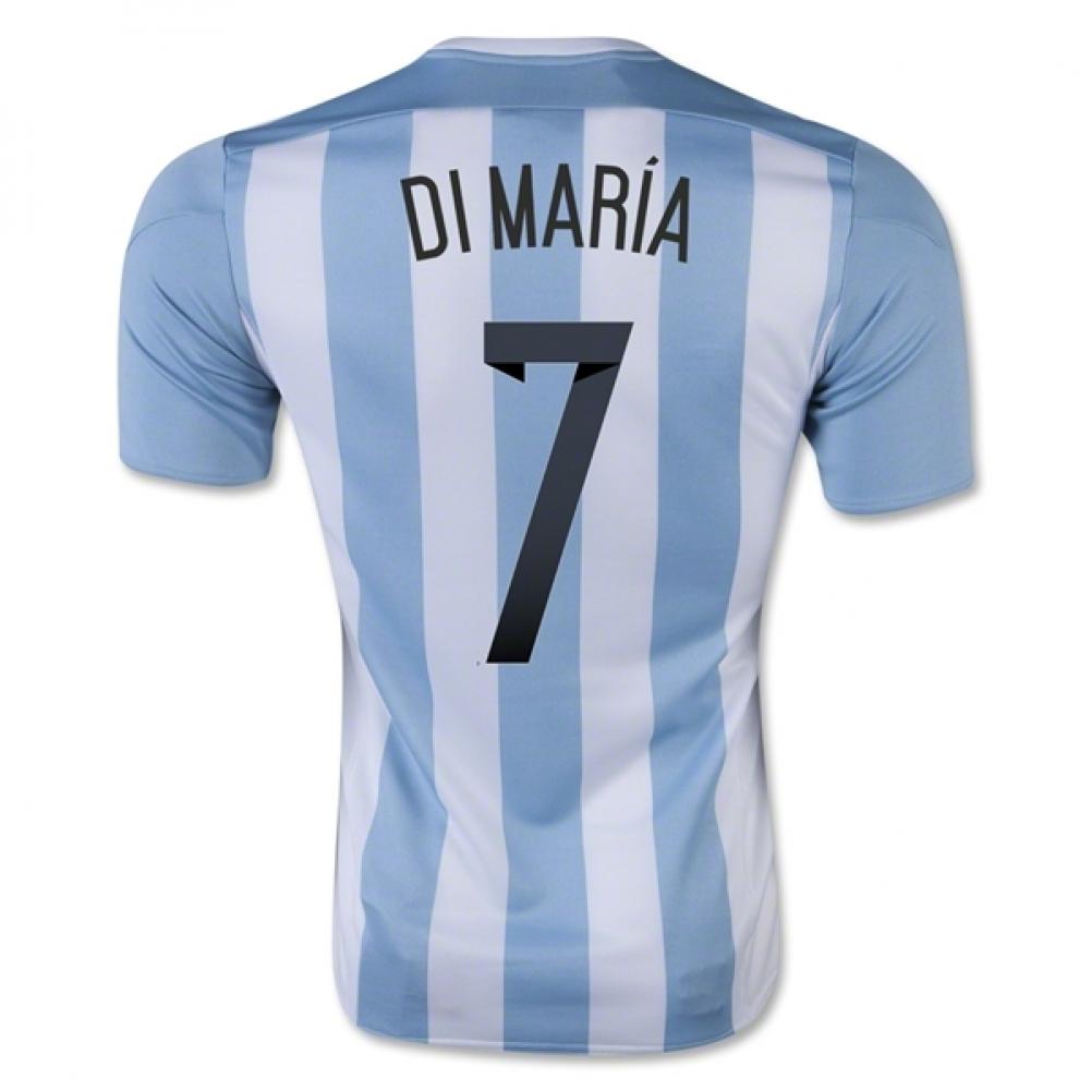 2015-16 Argentina Home Shirt (Di Maria 7) - Kids
