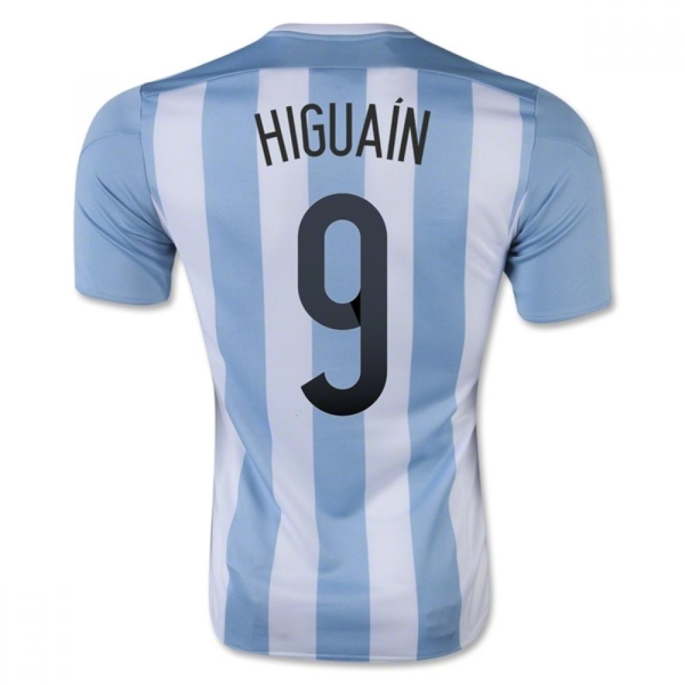 2015-16 Argentina Home Shirt (Higuain 9) - Kids
