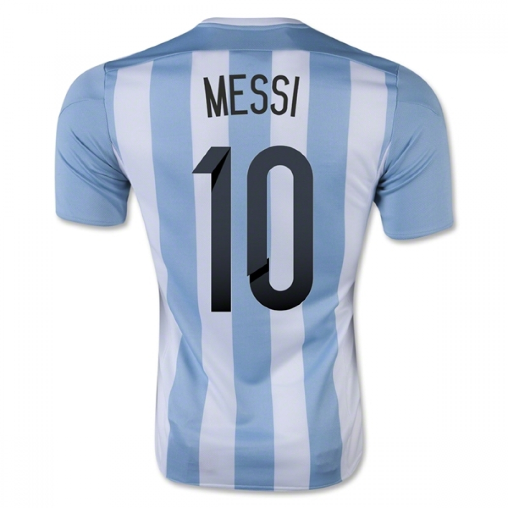 201516 Argentina Home Shirt (Messi 10)  Kids