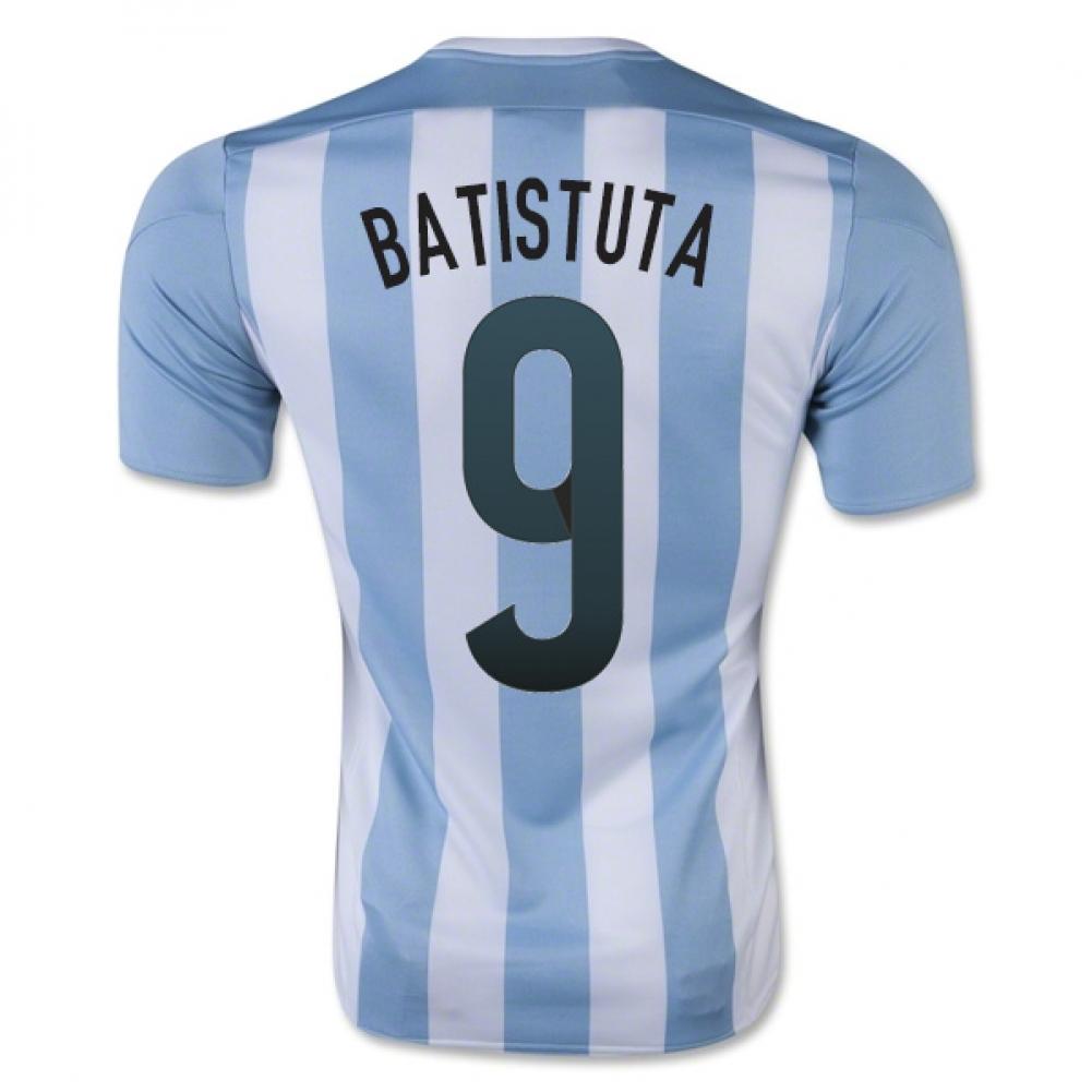 2015-16 Argentina Home Shirt (Batistuta 9) - Kids