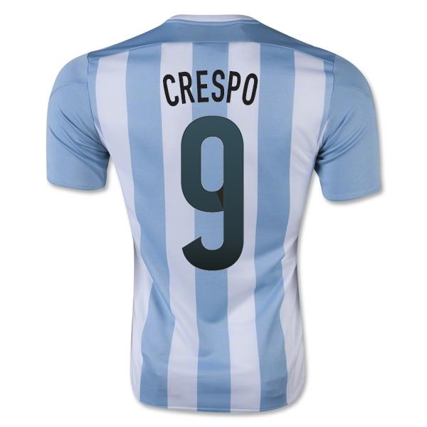 2015-16 Argentina Home Shirt (Crespo 9) - Kids