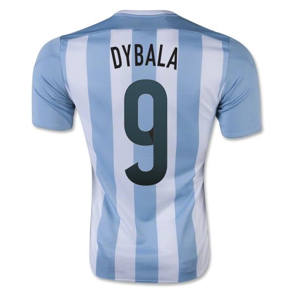 2015-16 Argentina Home Shirt (Dybala 9) - Kids