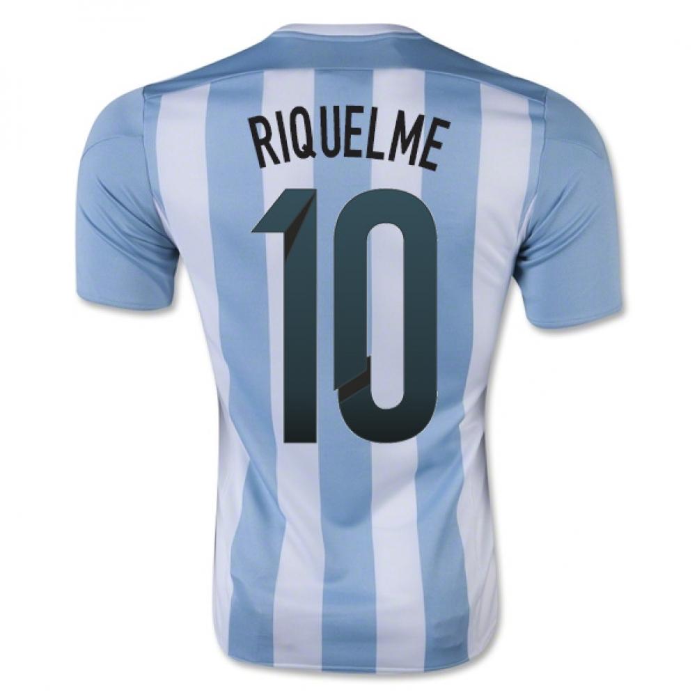 2015-16 Argentina Home Shirt (Riquelme 10) - Kids