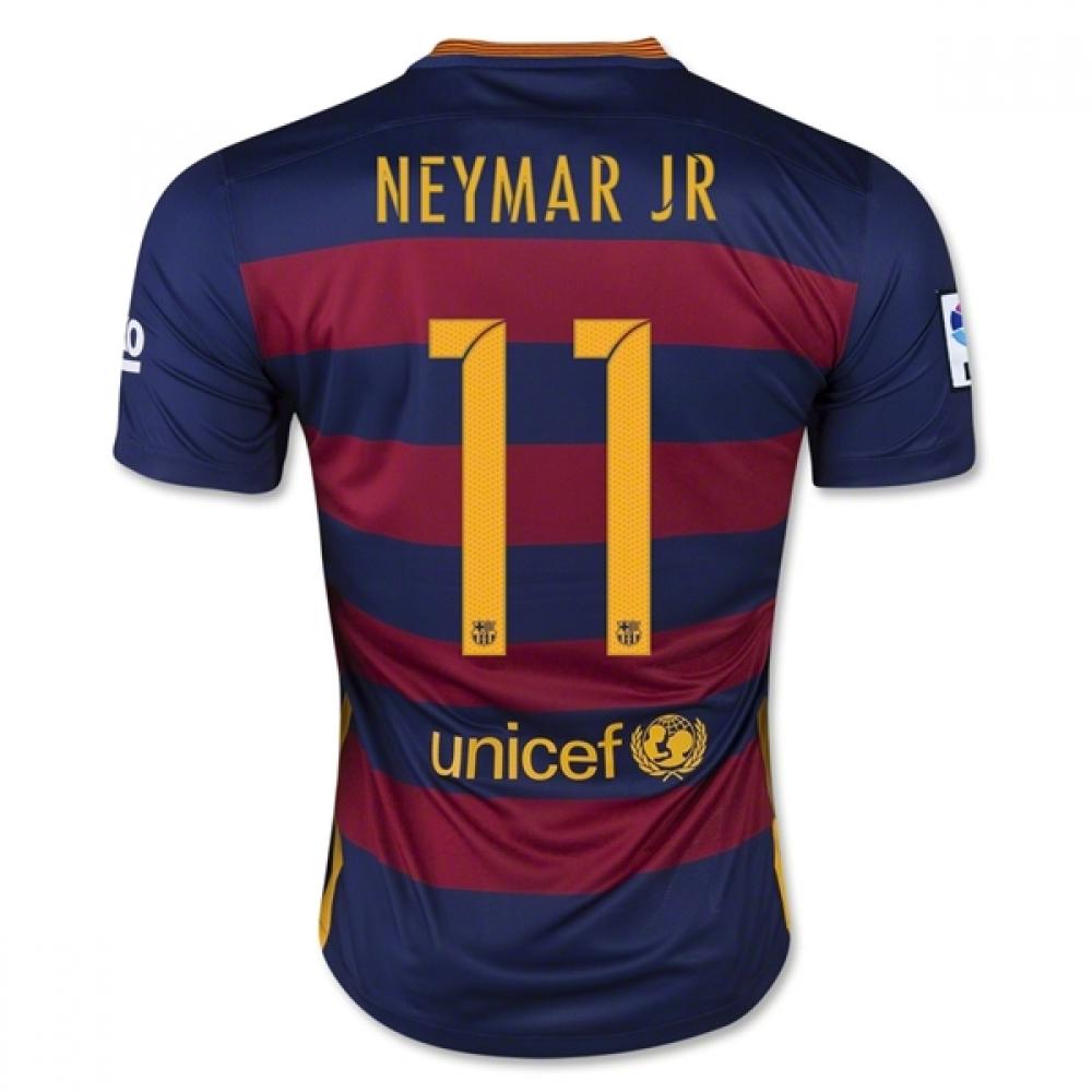 2015-16 Barcelona Home Shirt (Neymar JR 11) - Kids