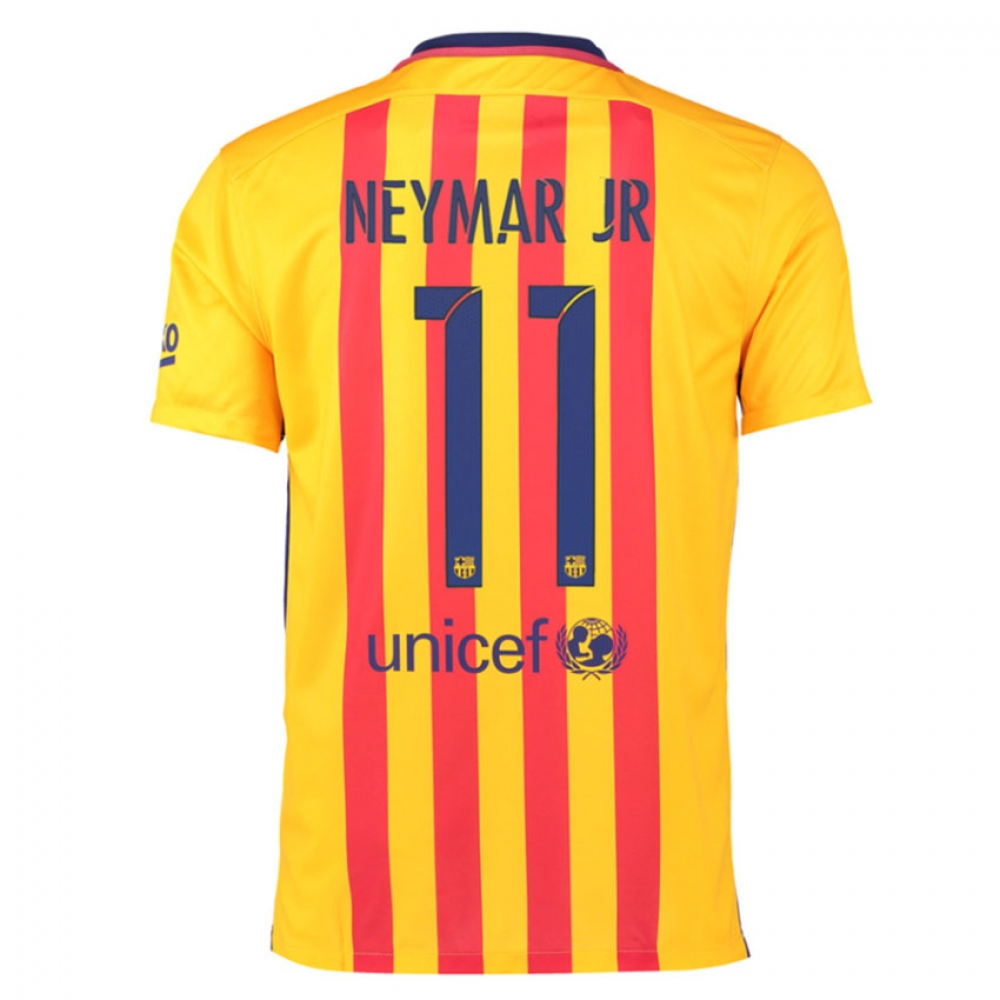 2015-16 Barcelona Away Shirt (Neymar Jr 11) - Kids