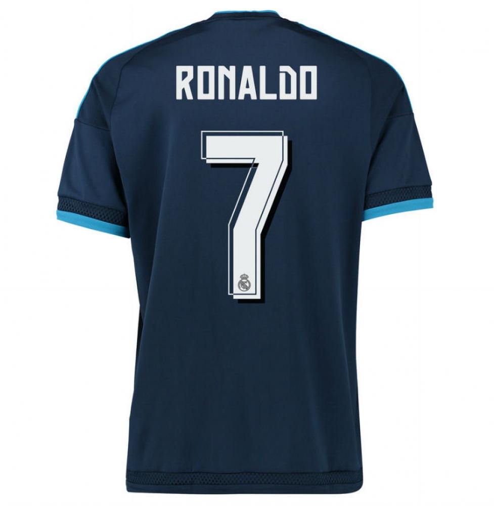 2015-2016 Real Madrid Third Shirt (Ronaldo 7) - Kids
