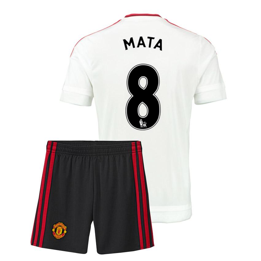 2015-16 Man Utd Away Mini Kit (Mata 8)