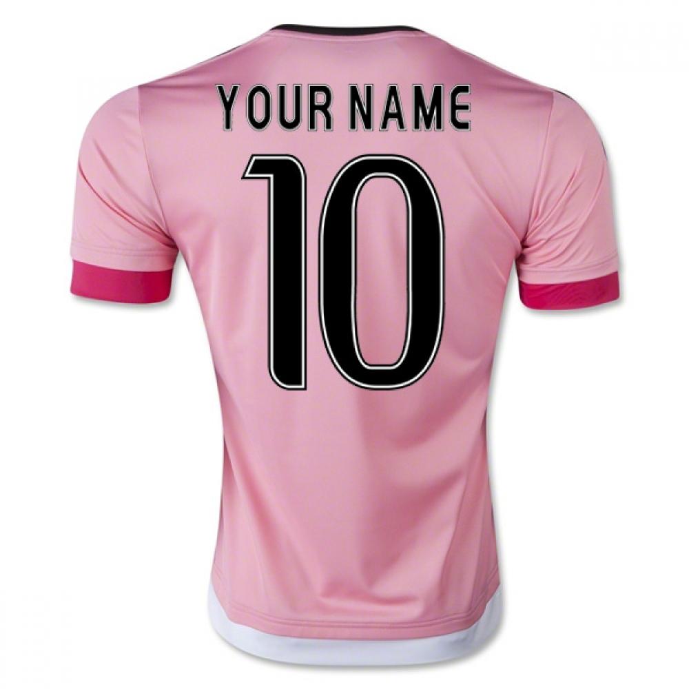 2015-16 Juventus Away Shirt (Your Name) -Kids