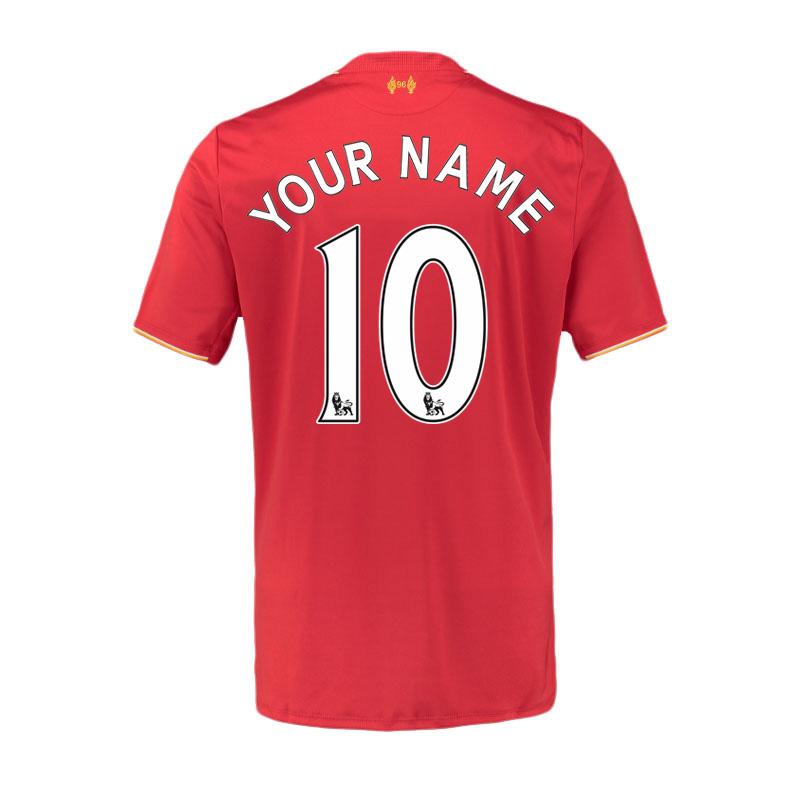 2015-16 Liverpool Home Shirt (Your Name) -Kids