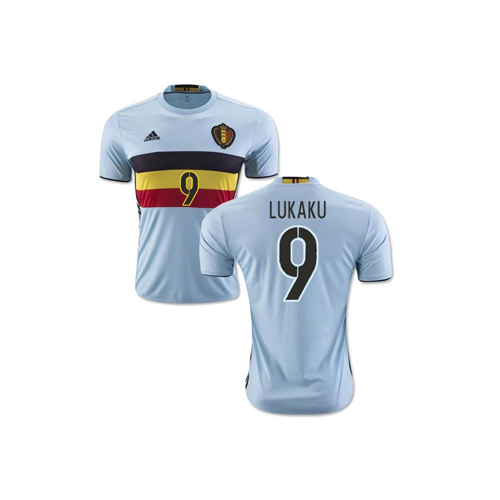 2016-2017 Belgium Away Shirt (Lukaku 9)