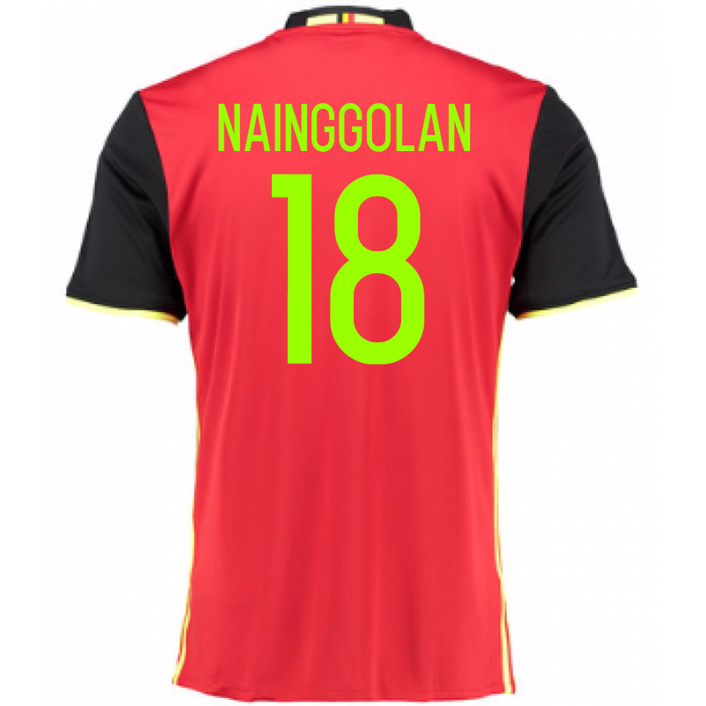 2016-2017 Belgium Home Shirt (Nainggolan 18) - Kids