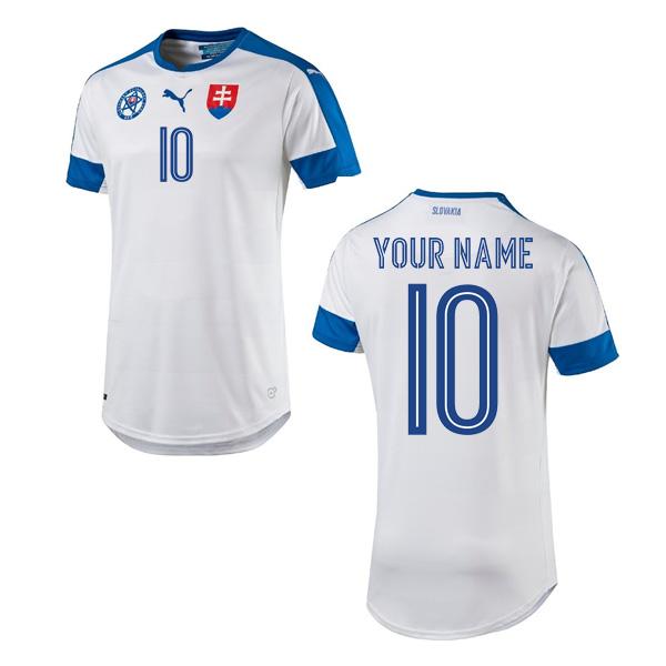 2016-2017 Slovakia Home Shirt (Your Name)