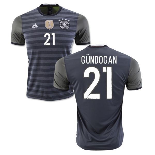 2016-2017 Germany Away Shirt (Gundogan 21)