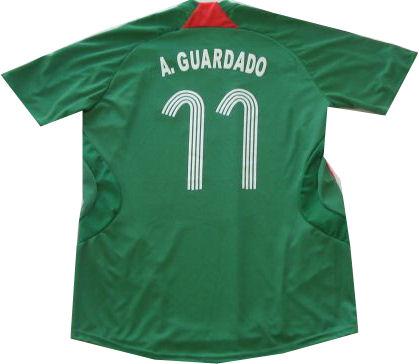 07-08 Mexico home (A.Guardado 11)