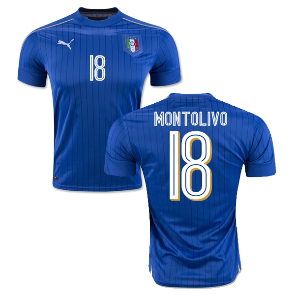 2016-2017 Italy Puma Home Shirt (Montolivo 18) - Kids