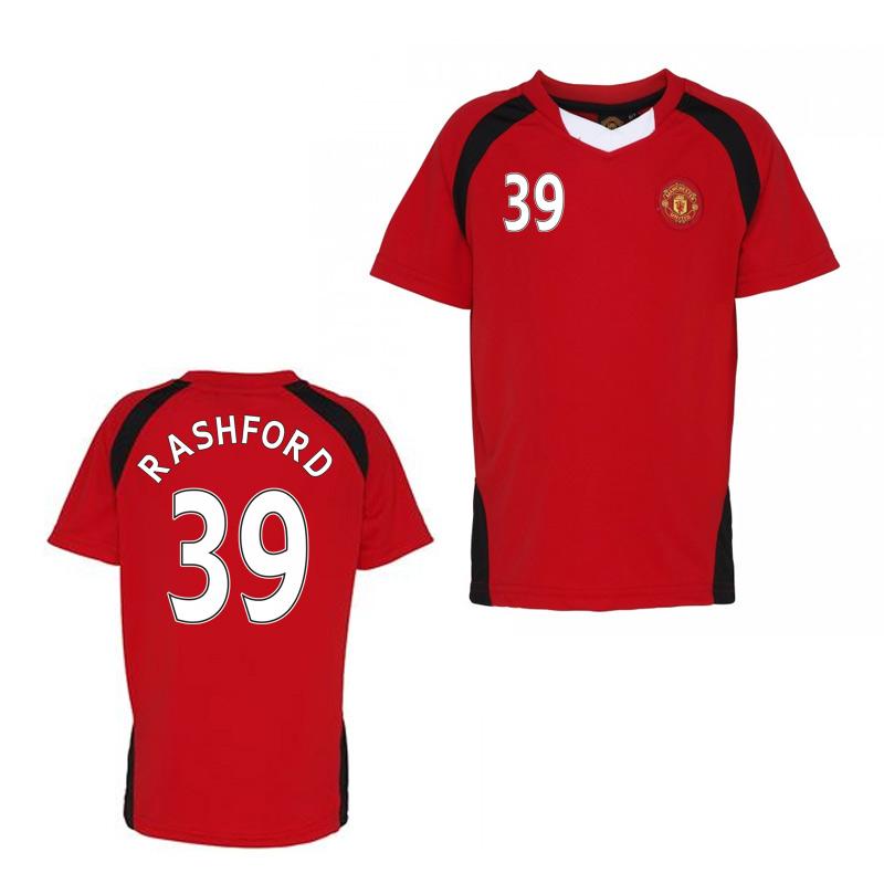 Official Man United Training T-Shirt (Red) (Rashford 39)