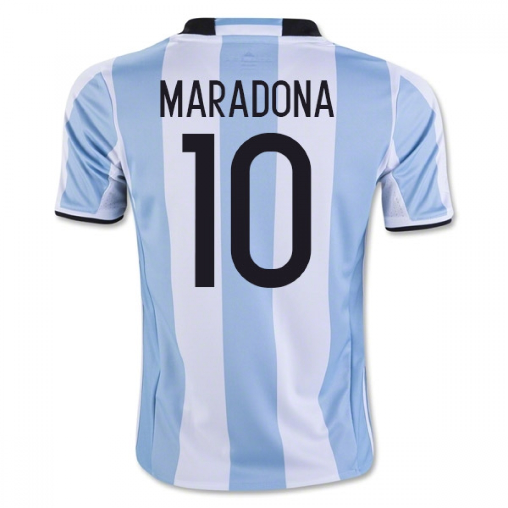 201617 Argentina Home Shirt (Maradona 10)  Kids