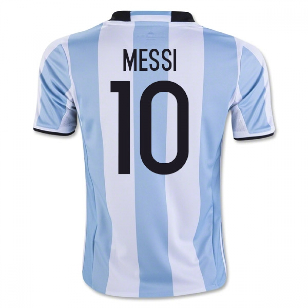 201617 Argentina Home Shirt (Messi 10)  Kids
