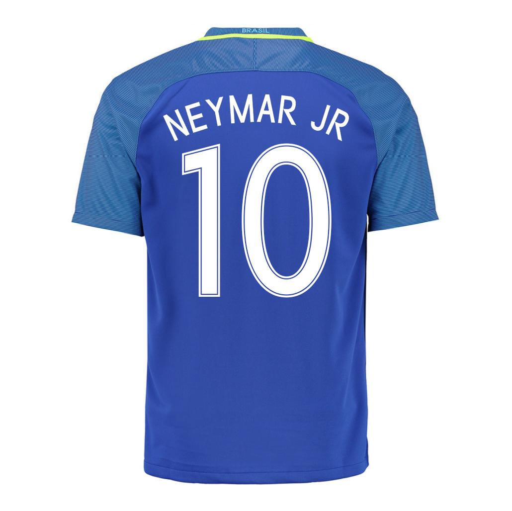 2016-17 Brazil Away Shirt (Neymar JR 10) - Kids