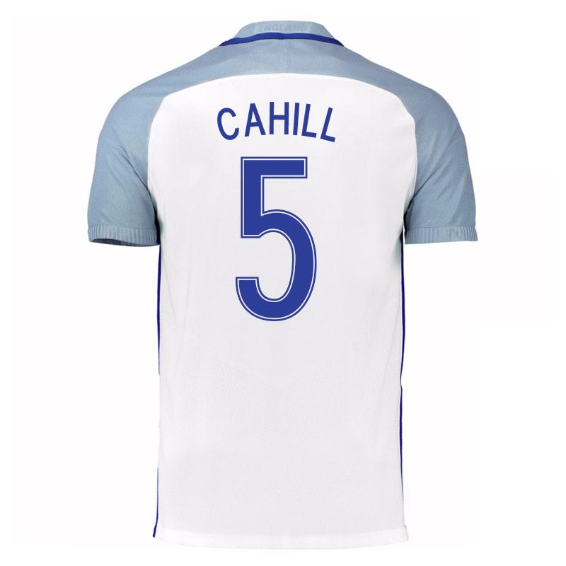 2016-17 England Home Shirt (Cahill 5) - Kids