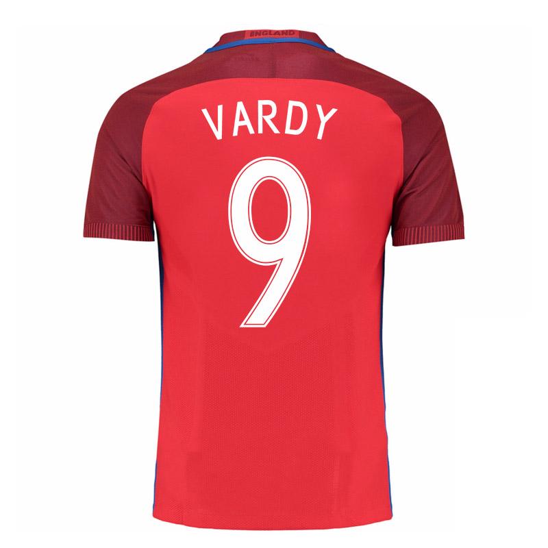 2016-17 England Away Shirt (Vardy 9)