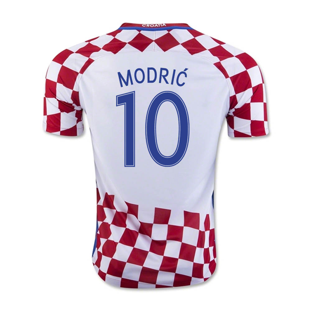 san francisco c88f5 d2e43 croatia 10 modric home youth kids child 2016 2017 country ...