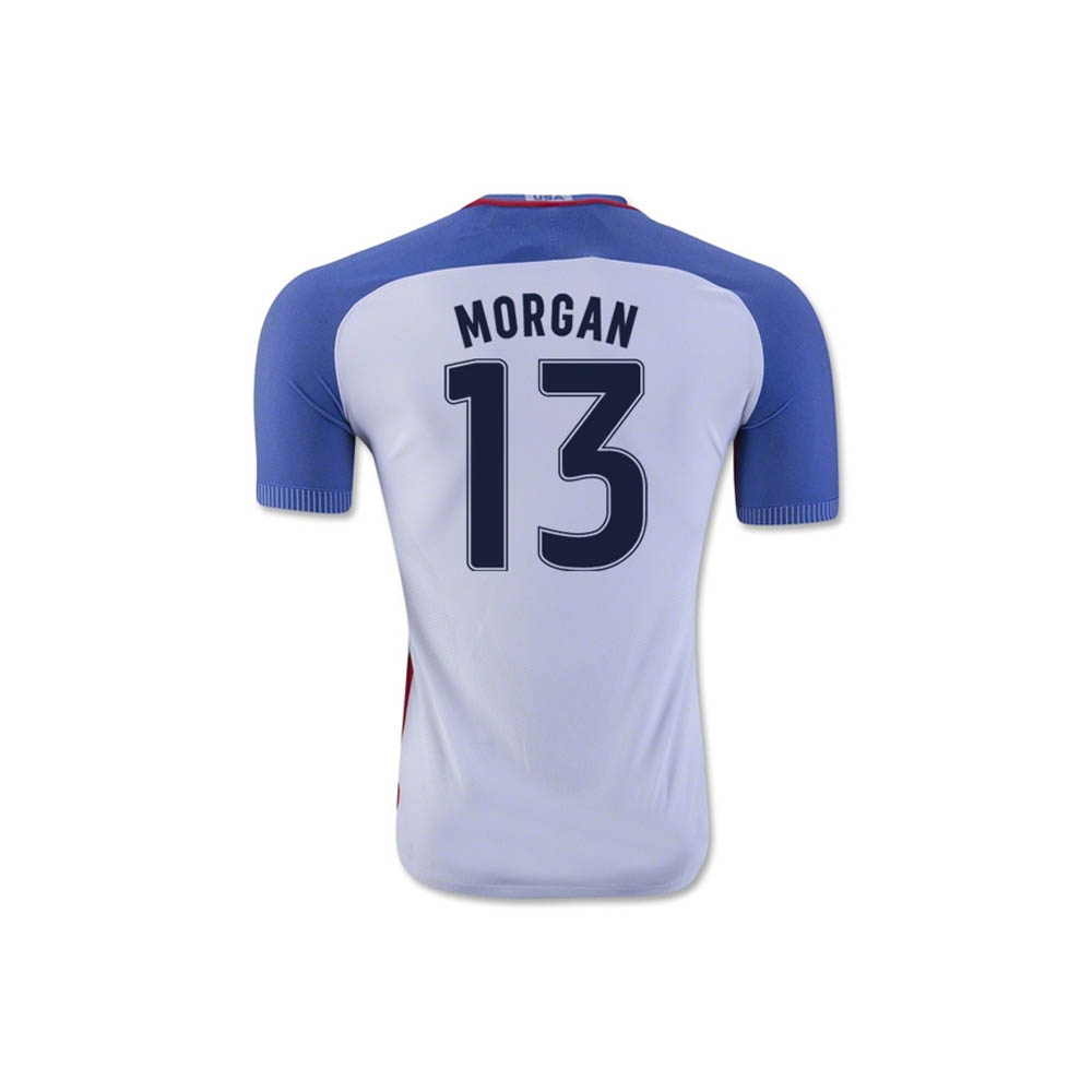 2016-17 USA Home Shirt (Morgan 13) - Kids