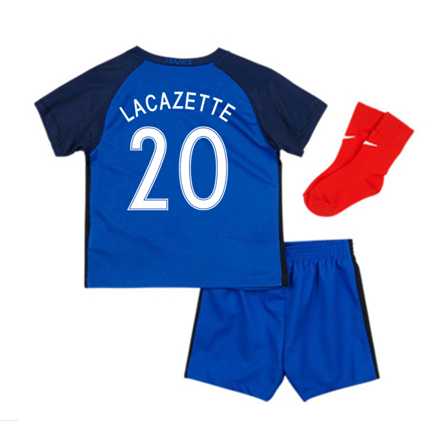 2016-17 France Home Baby Kit (Lacazette 20)